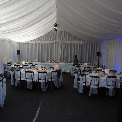 wedding venue transformation
