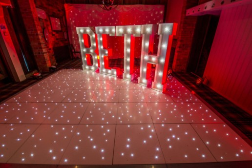 beth light up letters