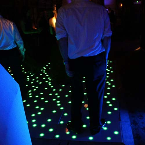 Dance floor hire in the uk transform your venue for your special it adds the next level to the starlit dance floor giving you the option to customise the colours of the twinkles solutioingenieria Image collections