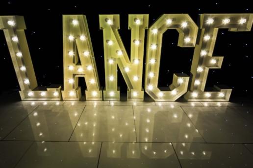lance light up letters