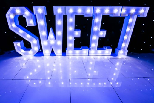 sweet light up letters