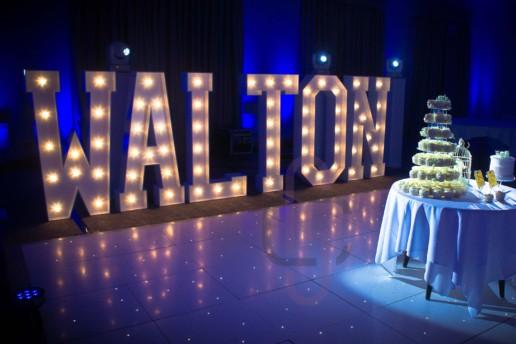 walton light up letters